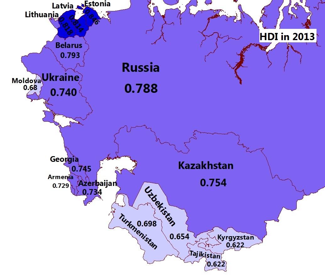 postSoviet states  MAPioso